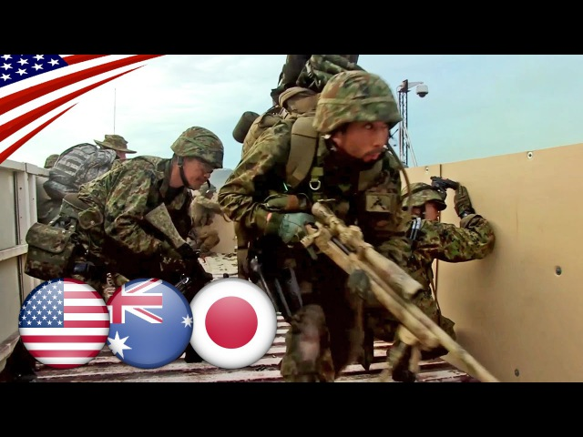 US-Australia-Japan Joint Exercise Southern Jackaroo 2016 - 自衛隊・米豪軍合同軍事演習 サザン・ジャッカルー2016