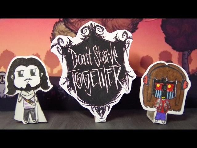 Анимация для Dantekris TIME SHOW ツ и Necros по Don't Starve Together | Stop-Motiont