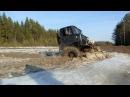 ГАЗ 66 и Suzuki Jimny ломают лёд полностью! GAZ 66 deep water offroad!