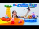 Игрушки для детей. ДРАКОНЫ украли автомобиль папы Свина! Видео СвинкаПеппа
