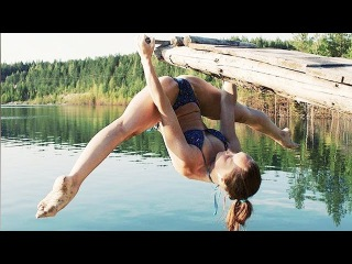 TOP 20 Incredible flexible girl - you must see it / Female fitness moments
