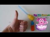 DIY .Новогодняя пушка хлопушка своими руками из Киндера за 5 минут