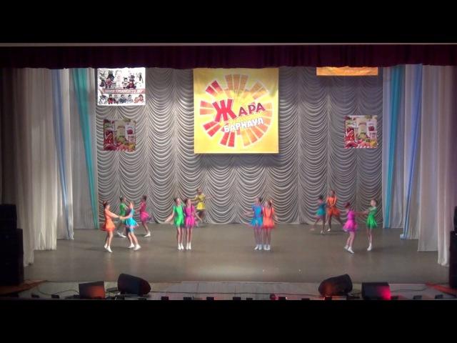 Образцовый коллектив эстрадного танца ЛАНЦЕ, танец Скакалочки. Соло исполняет Лаптева Татьяна.