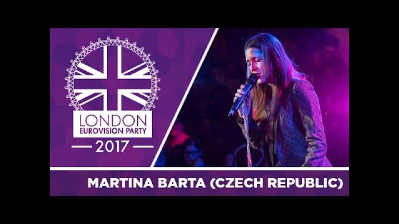 Martina Bárta - My Turn (Czech Republic) | LIVE | 2017 London Eurovision Party