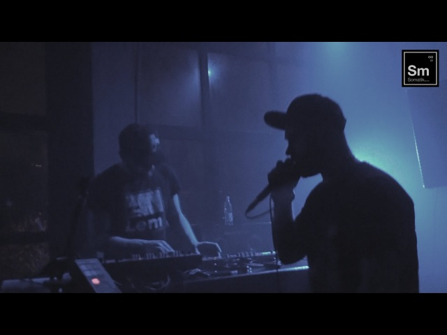 LEM RBO Live @ Somatik Sound System party LES Bar St Petersburg Russia 05 03 2016