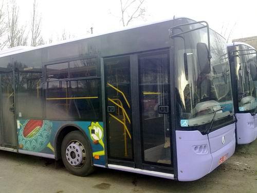 Власти Донецка организовали движение автобусов по маршрутам дачного направления
