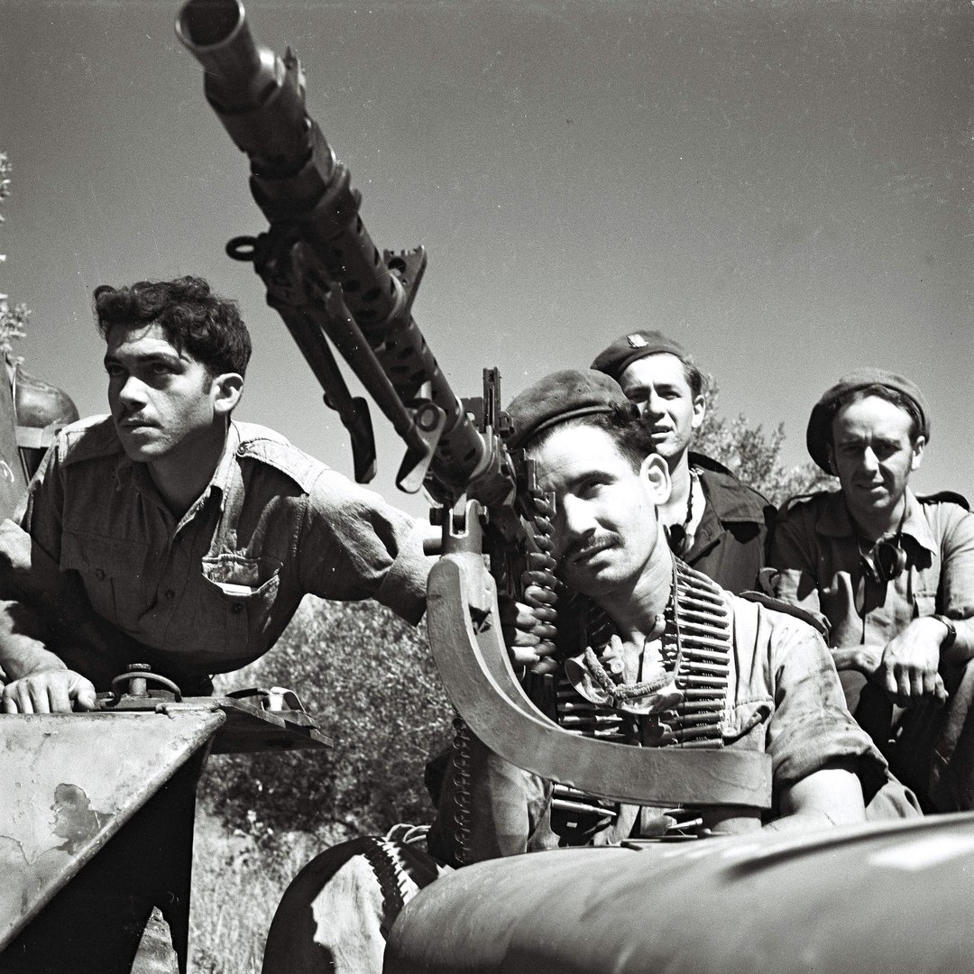 Оружие вермахта на защите Израиля