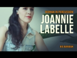 Woman in percussion Joannie Labelle