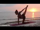 """Вечерняя йога для начинающих """"Вдохновение морем"""" ¦ Yoga for beginners"""