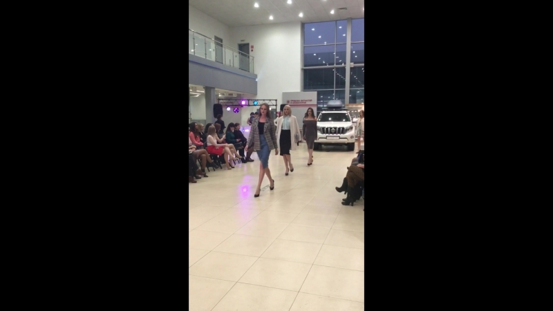 Mira Sezar Архангельск на Toyota Fashion Day 08.10.2016