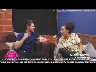 Niall Horans new interview with Ash London [RUS SUB]