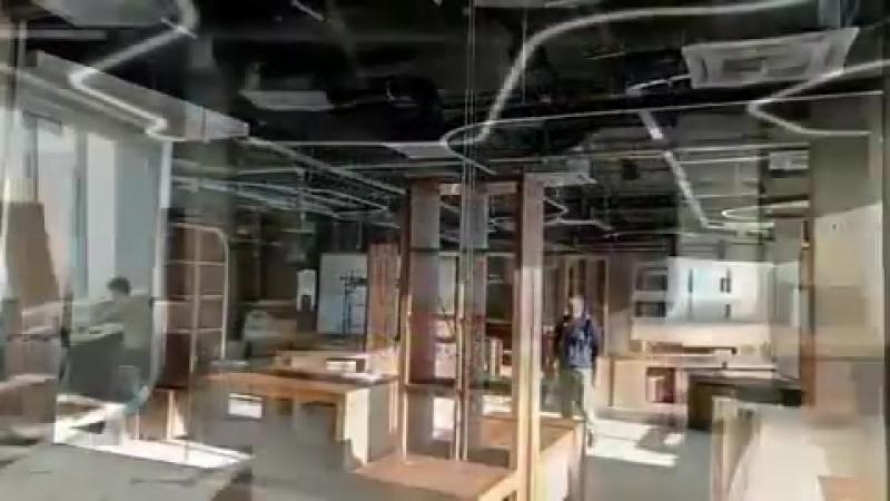 Как строили новый офис Нового Радио!