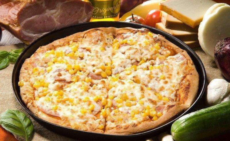 Бразильская пицца