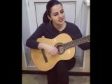 Сабина Аскерова - Заметался пожар голубой