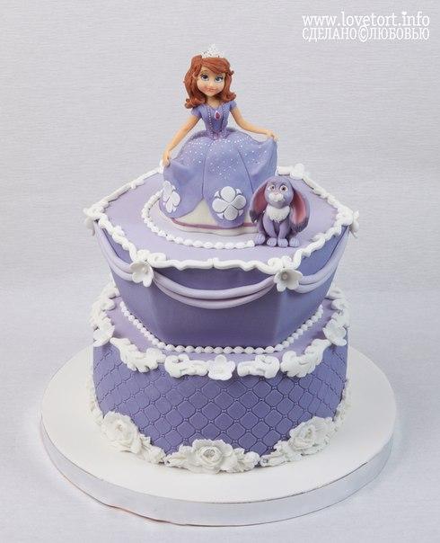 Торт принцесса София cake
