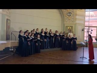 Дилмано дилберо (Болгарская народная песня) Хор хорового училища.