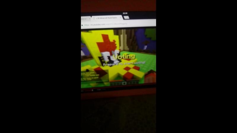 Дилерон и Миникотик играют в майнкрафт
