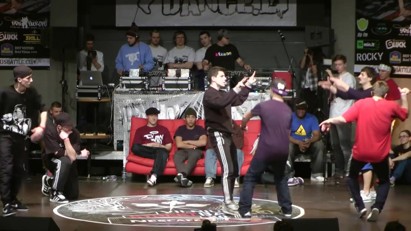 Hunters (BY) vs Depils Originals (LV) / 1/4 final / Vilnius Street Battle (2013)