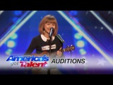 Grace VanderWaal: 12-Year-Old Ukulele Player Gets Golden Buzzer - America's Got Talent 2016