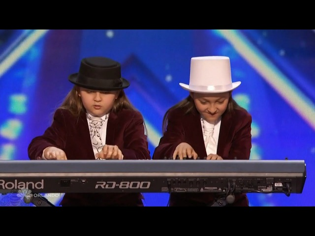 Americas Got Talent 2016 Elias Zion Phoenix Twin Keyboardists Full Audition Clip S11E04
