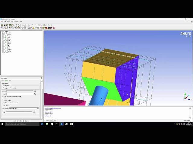 Hexa Meshing tutorial in ICEM CFD