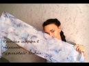 Шифоновый шарфик узелковый батик