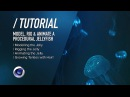 C4D TUTORIAL Bioluminescent Jellyfish PT1 Modelling Rigging Animating