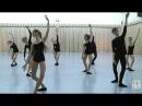 Vaganova Ballet Academy. Contemporary Dance Exam, plié. 5th class.