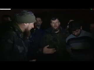 Kaдыpoв поймал сбежавшего главаря тeppopucтoв