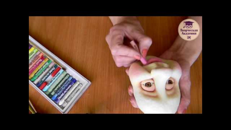 Мастер класс 'Русалочка' в чулочной технике Тизер
