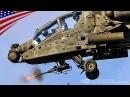 AH 64Dアパッチ・ロングボウ攻撃ヘリの兵器搭載と砲撃訓練