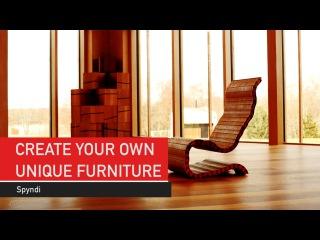 5. Spyndi: Amazing furniture invention - Magic Sticks!