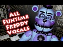 ALL FUNTIME FREDDY VOICE LINES Custom Night Night 2 Sister Location w Subtitles