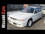 Wasabi Cars  Before the Evolution 1991 Mitsubishi Galant VR-4 RS (E38A)