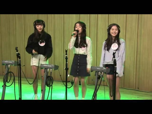 151011 Oh My Girl Hyojung Seunghee YooA Halo Cover @ Cultwoo Show