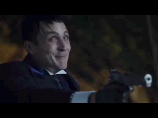Gotham 3x2 Fish And Penguin Confrontation Mad City Burn the Witch