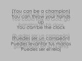 THE SCRIPT ft. WILL.I.AM - HALL OF FAME lyrics english and spanish