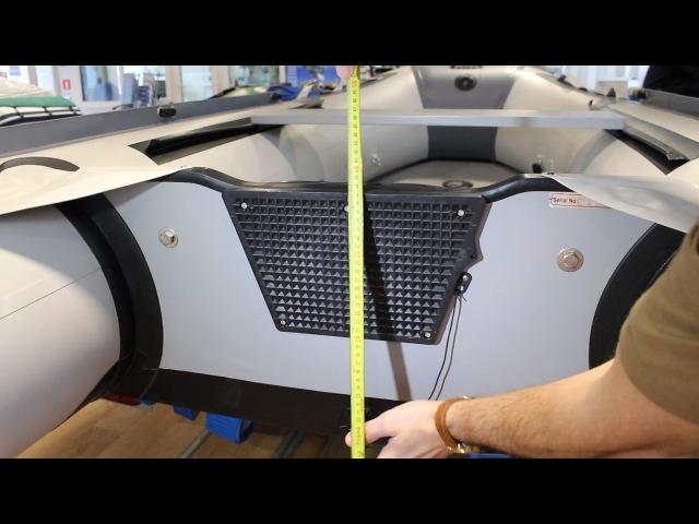 Как установить подвесной мотор на лодку ПВХ