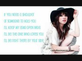 Just A Step Away - Carly Rae Jepsen LYRICS!