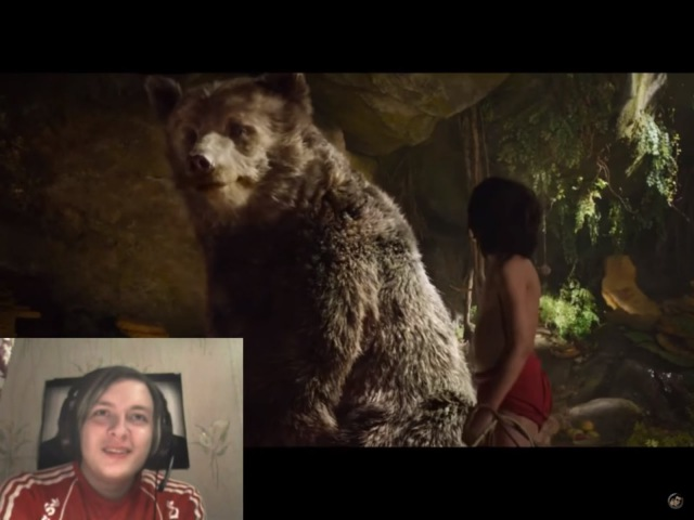 Funny Fox смотрит Трейлер 2 Книга Джунглей The Jungle Book