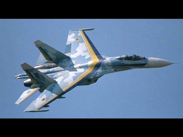 Высший пилотаж украинского летчика на СУ-27