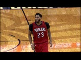 Anthony Davis with the Monster Game on Opening Night   10.26.2016
