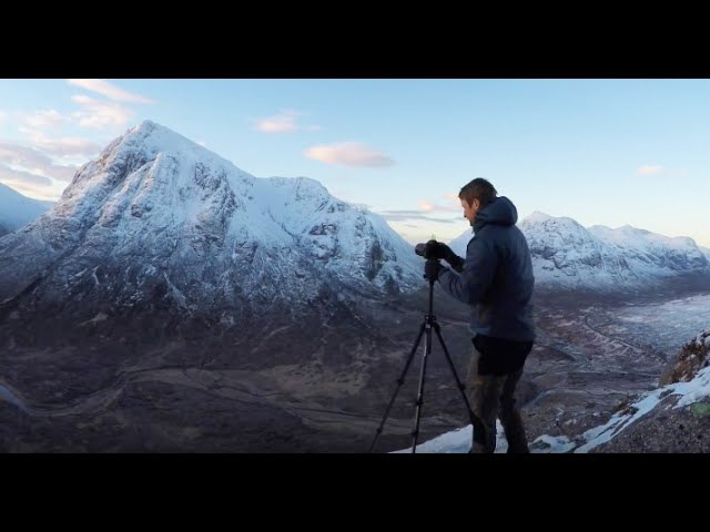 Landscape Photography: Winter in the Mountains of Glencoe