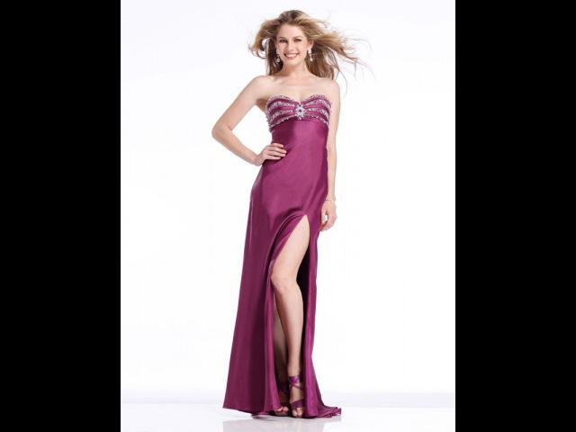 Вечернее платье в пол Моделирование