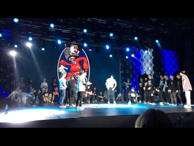 The Breakoniers vs. Kienjuice Crew| 1/2 FINAL | BOTY CIS/Baltic 2016