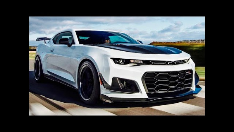 2018 Camaro ZL1 1LE Interior Exterior Drive 650HP - Track MONSTER