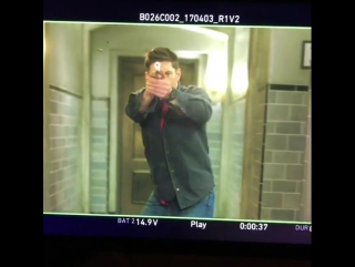 Just another Monday morning... I love this job! #slowmo #doubletap #spnfamily