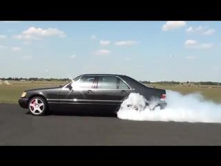Mercedes S 600 V12 Biturbo 0-270km_h acceleration