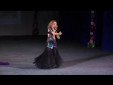 Veronica Fatin russian belly dance star. Belly dance perfomance at Gala show. 952