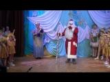 Выход Деда Мороза - Новогодний концерт ДШИ им. М.И. Глинки в КДЦ Южный